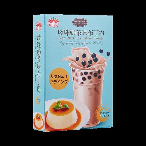 親子烘焙-新光珍珠奶茶布丁粉100g