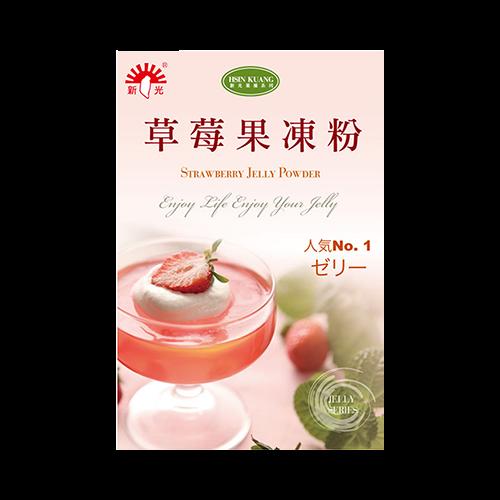親子烘焙-新光草莓果凍粉105g