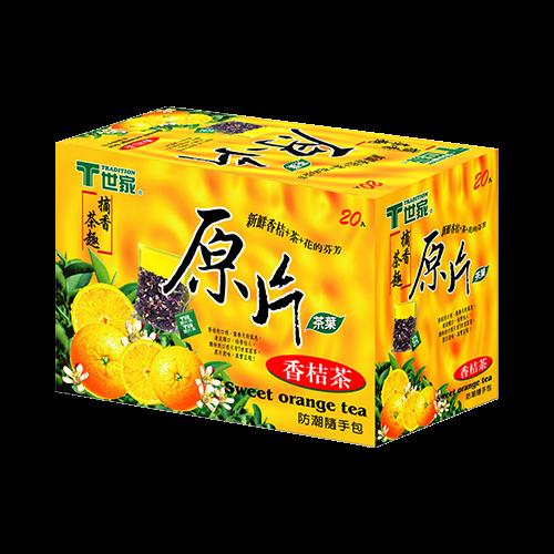 世家原片香桔茶包(20入)