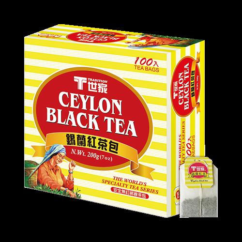 世家錫蘭紅茶包簡易包(100入)