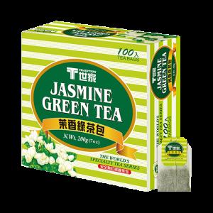 世家茉香綠茶包簡易包(100入)