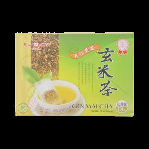 天仁原片黃金玄米茶防潮包18入